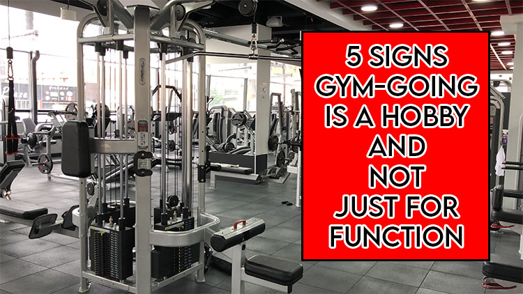 This picture features the relevant article title including an evocative image of a gym
