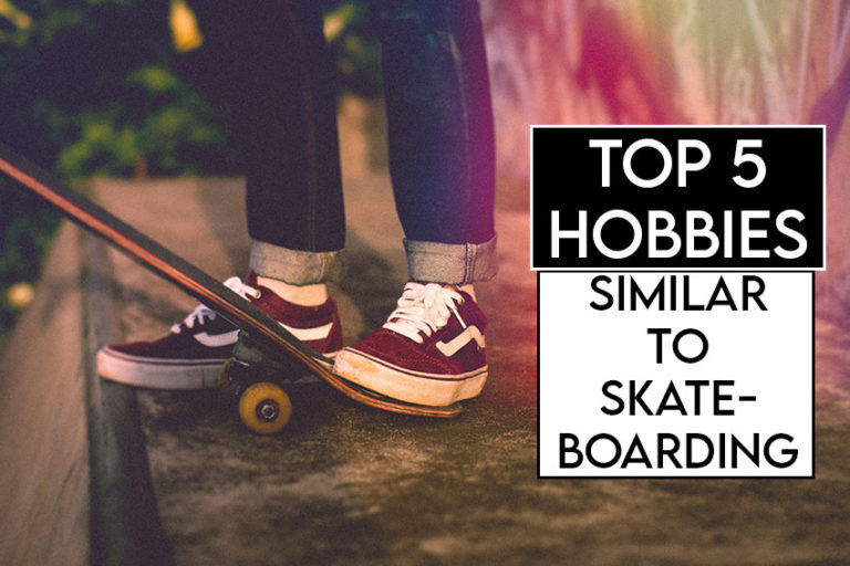 this picture features the relevant title and an evocative image of a skateboard