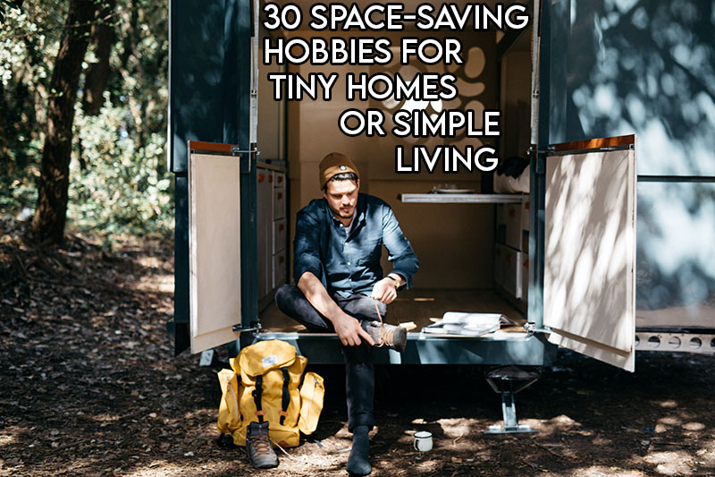 this picture features the relevant article title and an evocative image of a tiny house