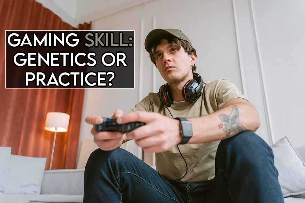 This image features the relevant article title including an evocative image of a gamer