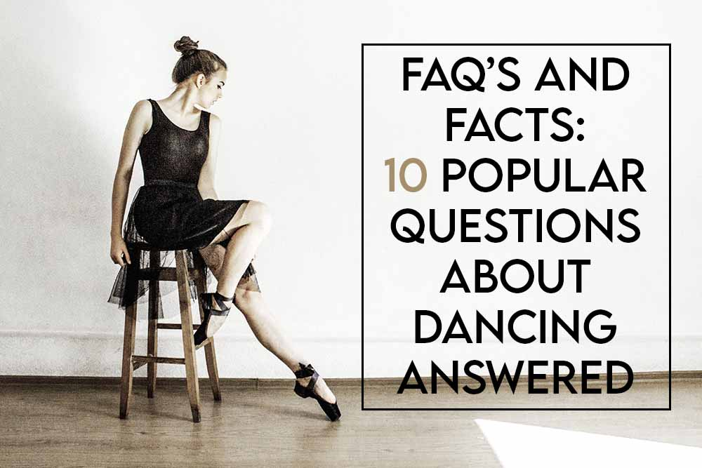 this image features the relevant article title where we answer popular dancing questions and also features an evocative image of a dancer